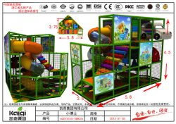 Kaiqi Small Indoor Soft Play Playground Set - Many Colours (KQ20120105-TQBK20A)のAvailable
