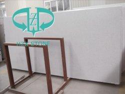 벽을%s 백색 인공적인 대리석 또는 마루 또는 도와 또는 부엌 싱크대 또는 층계 단계 또는 묘비 또는 샘 또는 허영 상단