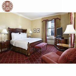 Klassische antike Art Europa und Amerika, die Hotel-Schlafzimmer-Möbel schnitzen