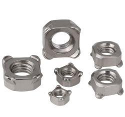 Commerce de gros en acier au carbone DIN928/l'écrou de soudure carré en acier inoxydable/l'écrou hexagonal