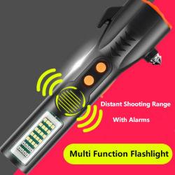 A100 de 900 lúmenes alta ultra brillante LED linterna táctica T6 con enfoque ajustable y 5 modos de luz de linterna para camping