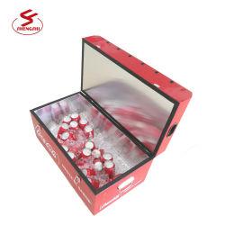 Foosball Tisch mit kühlerem Kasten