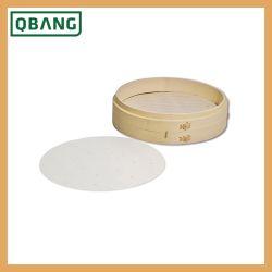 Vapor de cozinha de alta qualidade panelas a vapor a cesta de bambu de dobragem