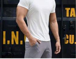 El Athletic ejecutando ejercicios de gimnasio en t de manga corta