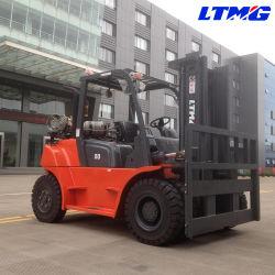 La Chine Duel chariot élévateur à fourche de carburant de 5 tonnes 6 tonnes pour la vente de l'essence GPL Chariot élévateur à fourche