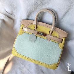 Sac de platine première couche de cuir Sac Briking 30cm avec dentelle couleur de marque de gros sac à main de l'EMG Collision Femmes5603