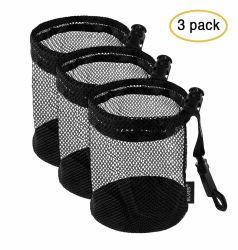 ゴルフテニス・ボールのための黒い網の純袋