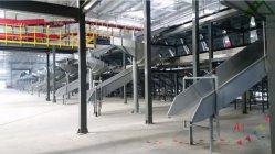 En acier au carbone en acier inoxydable/linéaire & goulottes en spirale dans les applications E-Commerce