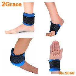 A terapia quentes e frias Gel Wrap para partes do corpo incluindo cotovelo do bocal do cabeçote do Arco do tornozelo joelho do punhopara alívio de inchaço dolorimento