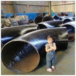 API d'usine ANSI B16.9/ASTM A234 WP11 LR 45/90 degré/carbone forgé en acier inoxydable sans soudure SS 304 306 raccord de tuyau Raccord en T de la bride en réduisant les coudes