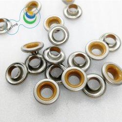의복 /Gift 부대 부속품을%s 12mm 두 배 색깔 둥근 중심 빈 금관 악기 작은 구멍