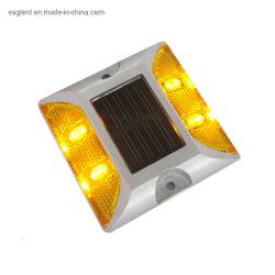 Vite prigioniera solare di alluminio della strada dell'occhio di gatto di alta luminosità LED