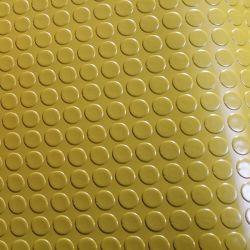Incombustible alfombrilla de goma antideslizamiento Grip de moneda hoja de caucho
