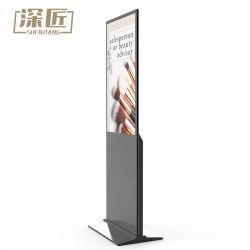 65-дюймовый внутри вертикального напольная подставка сенсорным экраном Full HD Digital Signage рекламные панели