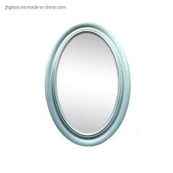 [مودن] خشبيّة ينظر [بلستيك متريل] جدار زخرفيّة بيضويّة يشكّل مرآة