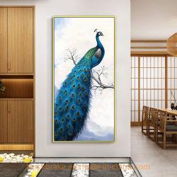 La peinture décorative DIY crystal Effet Cube Peacock Diamond peinture Peacock-B7