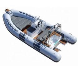 Funsor Deep-V корпусом из стекловолокна FRP каркасных надувных ребра лодки для рыбалки и спасения 4.8m