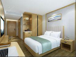 フォーシャンの工場3-4サウジアラビアのプロジェクトのための星によってカスタマイズされる木の現代的なホテルの寝室の家具
