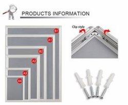 """25mm 8,5""""x11"""" size aluminium Snap/Clip/Photo/l'affiche"""