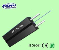 Una fibra dell'interno di 2 memorie di prezzi di fabbrica - fibra ottica del cavo di goccia della rete FTTH G657A