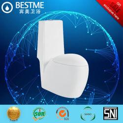 Superficie cerámica Ultra blanca de una pieza de lavado Inodoro (BC-1003A)