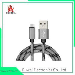 Androider intelligenter Telefon-Kabel-Handy Nylon-USB-Daten-Kabel