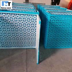 Hoja de Metal perforado/exposición/rollo del panel de acero inoxidable y aluminio galvanizado/