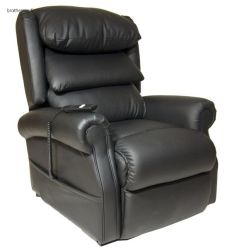 Sedia reclinabile per massaggio con sollevatore medicale in pelle approvata dal produttore CE