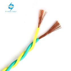 450/750 V Cu/PVC (IEC 60227) Cabo de PVC trançado fio eléctrico