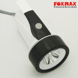 4pcs*D batería seca el plástico 1W Blanco linterna LED (FX-L05).