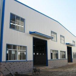 Estructura de acero prefabricada de construcción con viga columna Purlin panel sándwich de la hoja de acero