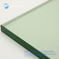 분명히 디자인하거나 색을 칠하는 목욕탕 /Railing 담 문 가구 Windows 또는 외벽을%s 평지 또는 구부려진 Tempered 박판으로 만들어진 유리