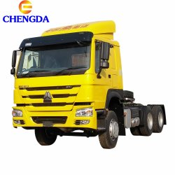 Preiswerter verwendeter Traktor-Kopf-LKW Rhd Sinotruk HOWO Traktor-LKW mit Dieselmotor