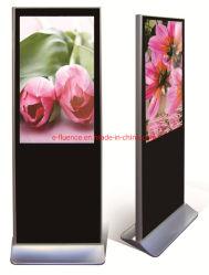 OEM وODM، وقوفًا بحجم 49 بوصة مع الإشارات الرقمية لحامل المجلات، وشاشة عرض إعلانات LCD