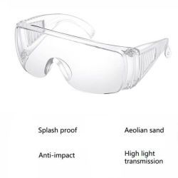 Augen-Schoner-Schutzbrille-chemischer Spritzen-Schutzbrille-Spritzen-Beweis-schützende Gläser