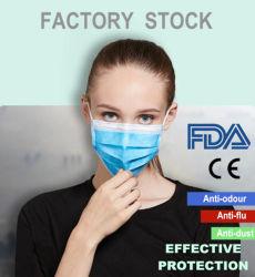 Hot Sale 3 plis à usage unique de protection FFP2 Masque facial étanche aux poussières