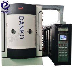 Máquina de recubrimiento vacío PVD de metal de acero inoxidable vidrio cerámico
