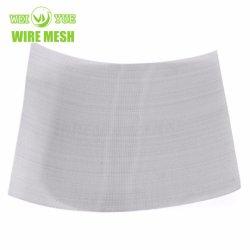 Ss 316 Fios de aço inoxidável a tela de malha de pano macio para filtro