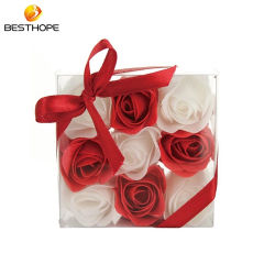 Parfum de fleurs de savon naturel ensemble cadeau de bain