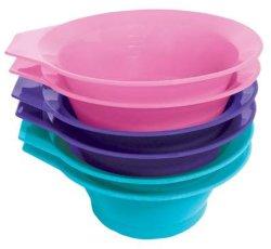 Taça de corantes capilares taças de cores de beleza Bowl Tonalidade de cabelo morrer Ferramenta de coloração