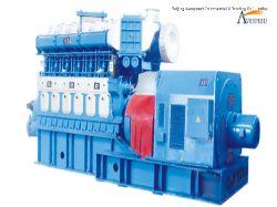 1000KW/500rpm baja velocidad del generador de diesel marino utilizado en los buques o planta de energía HFO