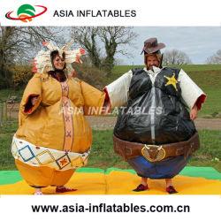 Les enfants et adultes de Sumo convient pour la vente, de matières grasses Sumo costumes gonflables