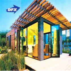 プレハブモジュラー移動式プレハブの木の生きている携帯用Shipingの鋼鉄贅沢で小さく移動可能なオフィスの容器の家