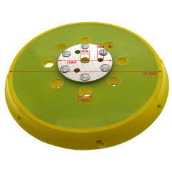 6 pouces de haute qualité appui Pad la puissance des outils de ponçage des accessoires