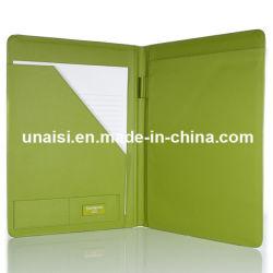 Формат A4 PU бизнес-документа портфель органайзера файлов в папке