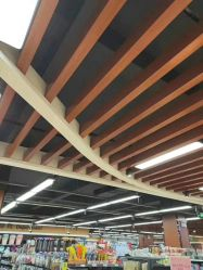 Milieuvriendelijke Waterdichte Houten en Plastic Plafonds