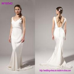 Do desgaste longo do partido de noite das senhoras Brial do algodão os melhores de esfera do vestido vestidos 100% de casamento