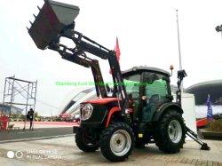4WD Tb604j 60HPの小型小さい四輪農場のクローラー果樹園の水田の芝生の大きい庭の歩くディーゼル農業機械力の耕うん機のKubotaによって使用されるトラクター