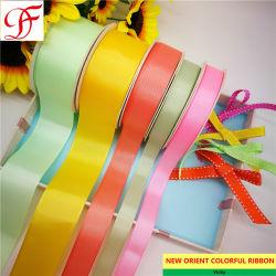 Factory satén, Organza, el borde de satén/centro, Grosgrain cinta de satén para arcos de flores o la decoración/Corea/Navidad regalos/caja de embalaje/Ajuste/vestido/