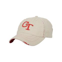 Custom 100% algodón gorras de béisbol Plain angustiado padre Hat lavado desgastado Papá Hat